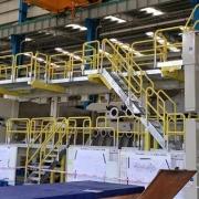 pulp machine catway system