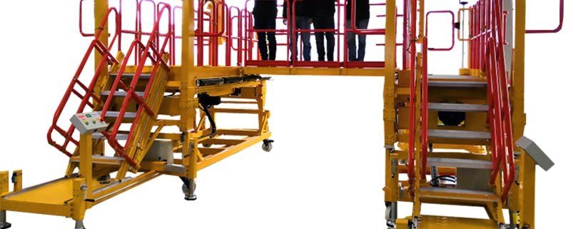 aluminum height adjustable platform