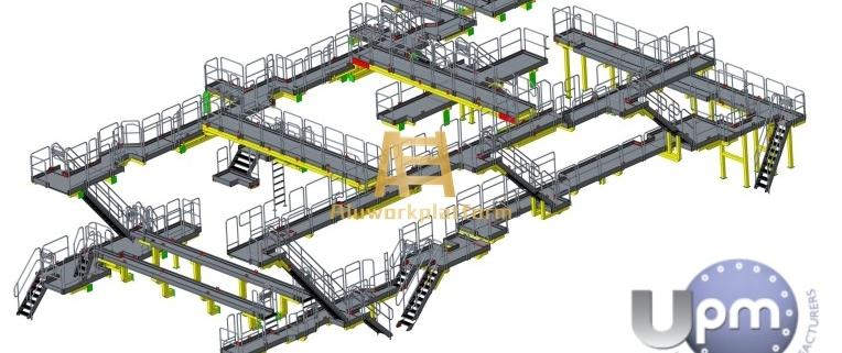paper machine walkway