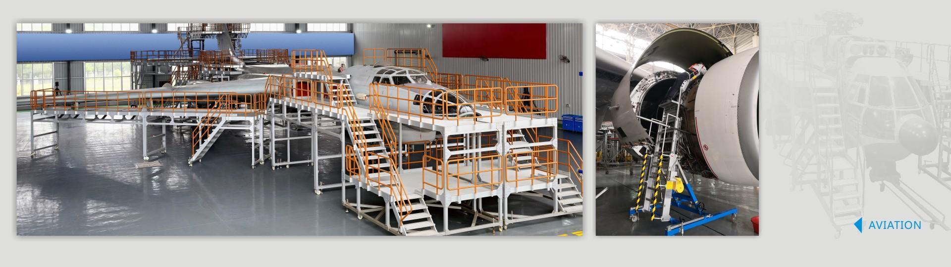 Aircraft Work Platform