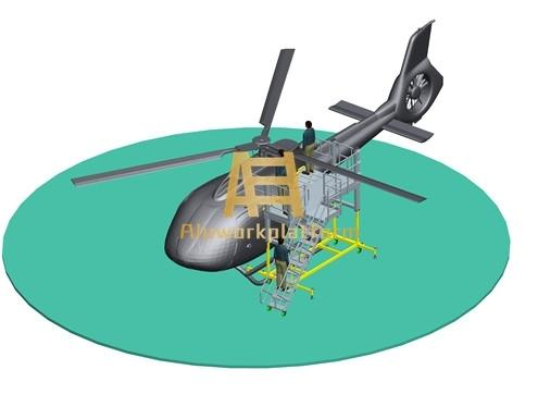 helicopter docking