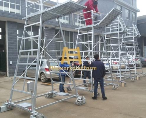 Railway Contact Line Inspection Ladder