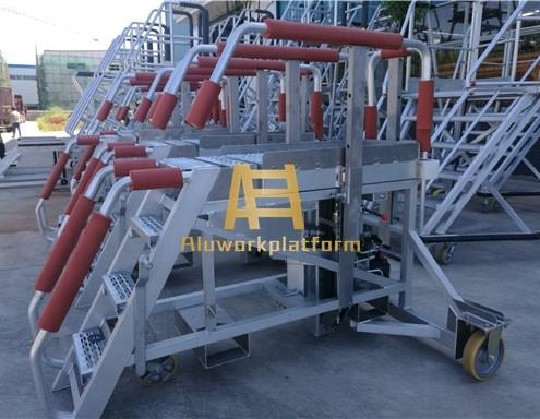 aircraft special work platform