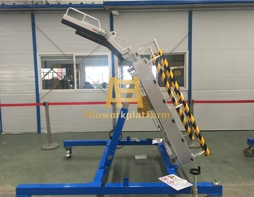 aircraft engine maintenance platform