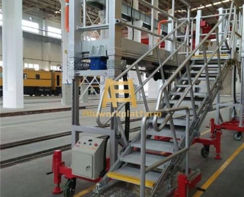aluminum lifting work platform