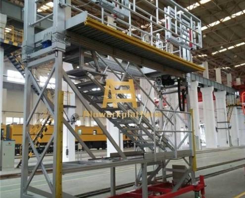 aluminum adjustable work platform
