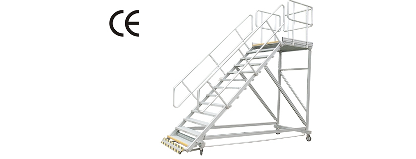 CE certified mobile stairs
