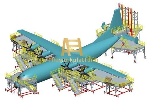 aircraft docking