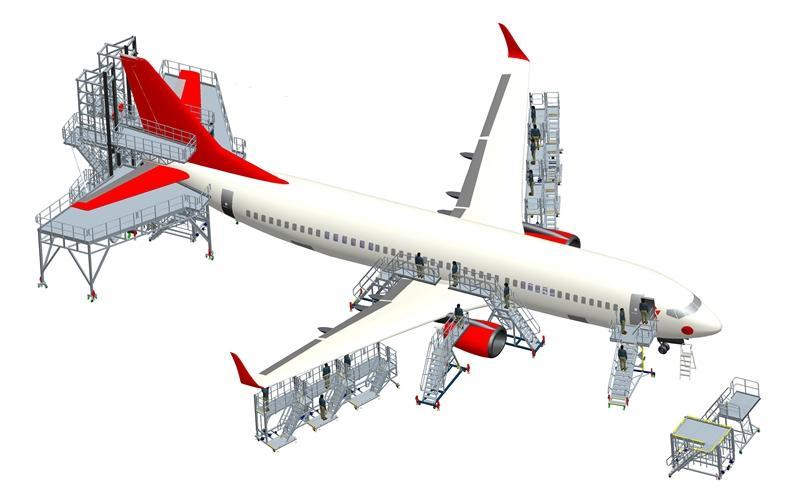 aircraft docking system