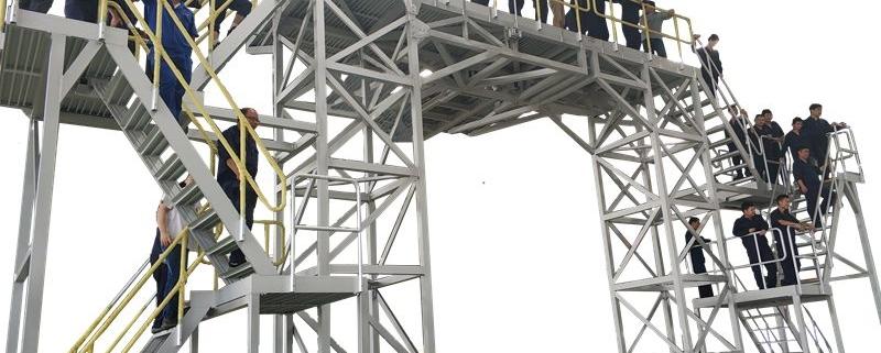 aircraft fairing maintenance platform