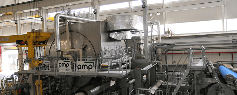 aluminum walkway for paper machine