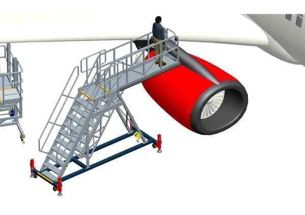 wing maintenance platform