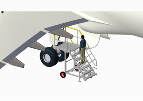 landing gear stand