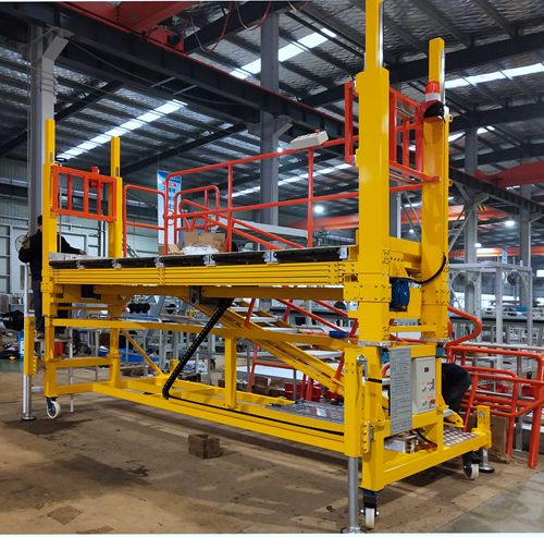 height adjustable aluminum work platform