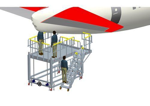 APU maintenance platform
