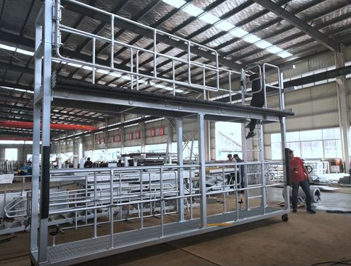 aluminum train maintenance platform