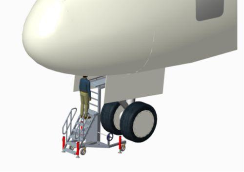 aircraft landing gear stand
