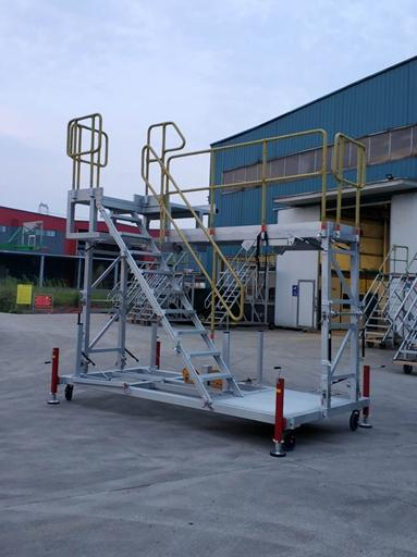 helicopter work platform