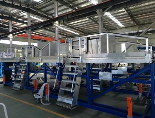 aircraft assembly platform