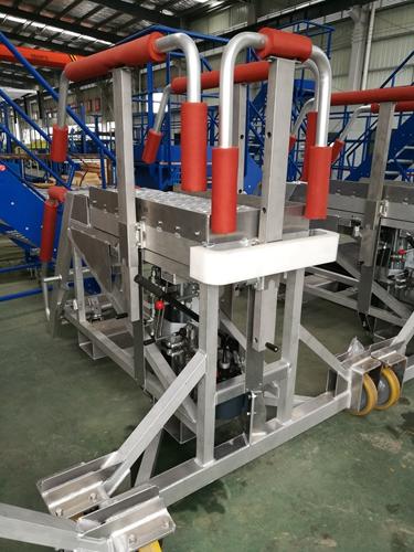 aluminum hydraulic platform