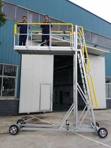 aluminum work platform