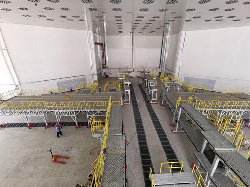 aluminum aircraft work platform
