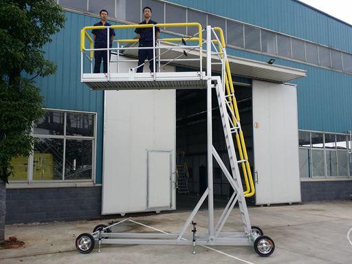 aluminum cantilever platform
