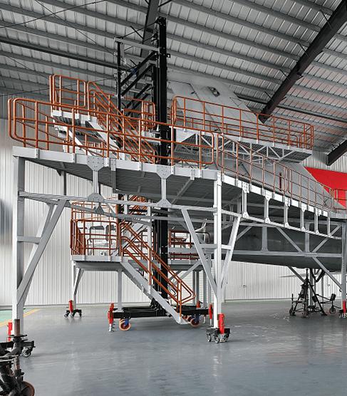 electrical lifting work platform