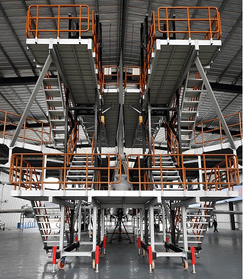 tail lifting work platform