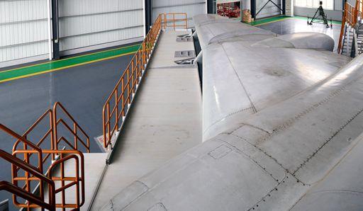wing dock platform