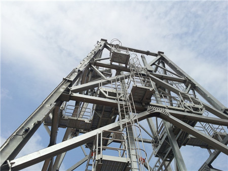 ladder, stairs, and walkway of offshore platform