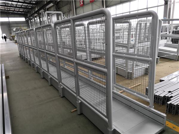 aluminum guardrail net