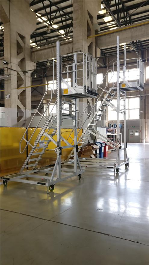 height adjustable platform