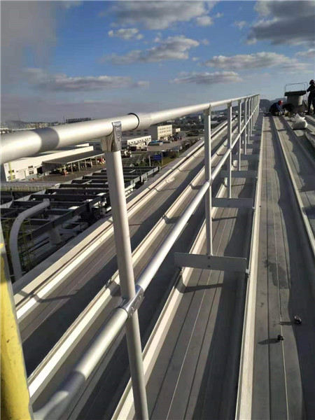 roof safety protection guardrail