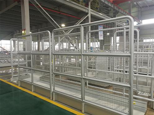 aluminum guardrail fence
