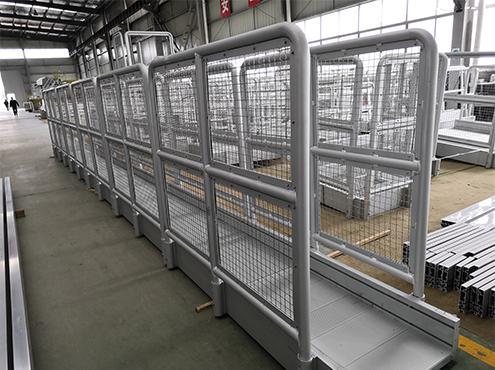 aluminum safey fence
