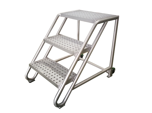 3 steps aluminum mobile steps
