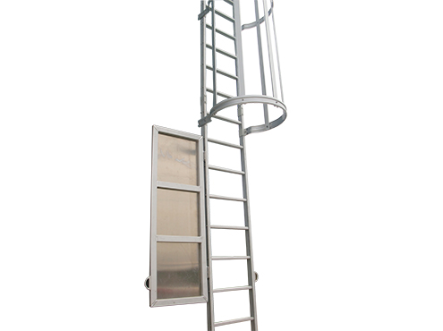 aluminum fixed ladder