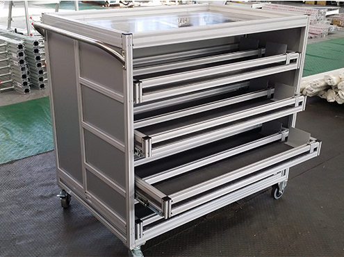 industrial mobile table