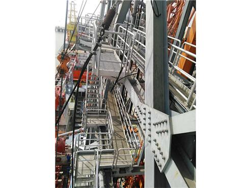 offshore platform walkway