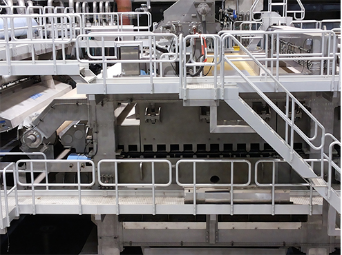 paper machine walkway