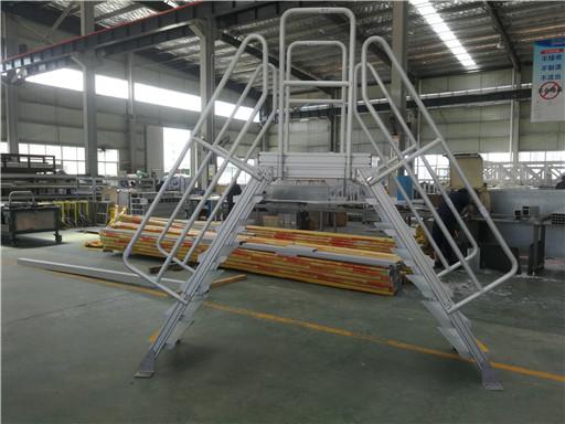 industrial crossover ladder