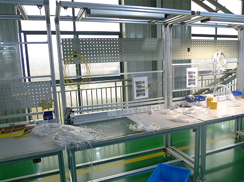 work table for production line