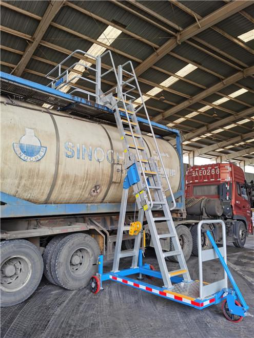 oil tanker loading platform