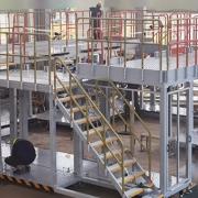 aircraft assembly dock