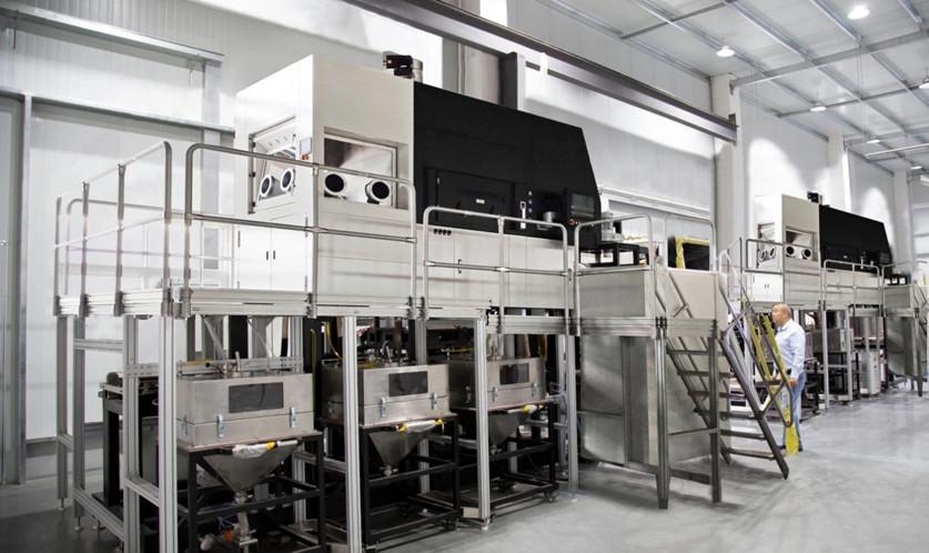 3D print machine work platform