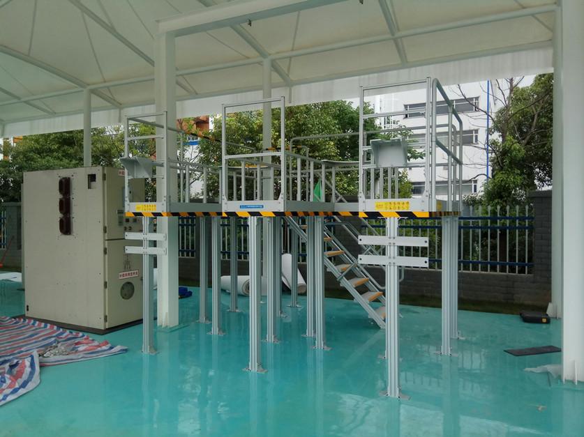 transformer plant work platform