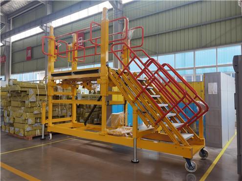 adjustable height platform
