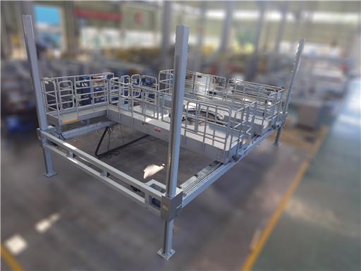 adjustable engine assembly dock