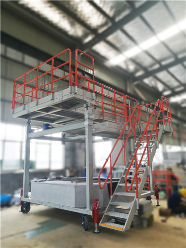 customized aircraft refulling platform
